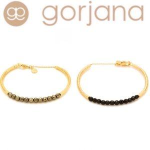 Gorjana 18K Plated Power Stone Beaded Bracelet